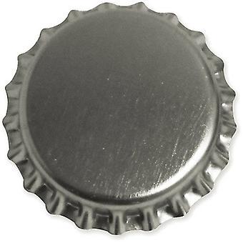 """Koristeellinen standardi pullon korkit 1 """"50/pkg-kromi"""