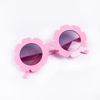 נערה & משקפי שמש חמניות צעצוע