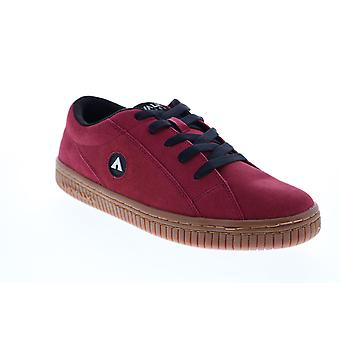 Airwalk The One Gum Mens Red Skate Sneakers Chaussures