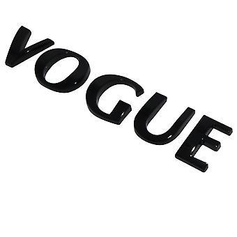 Gloss Black Range Rover Vogue Lettering Rear Boot Badge Emblem For Land Rover Evoque Discovery FreeLander
