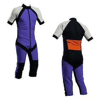 Skydiving summer suit purple-silver-orange s2-04