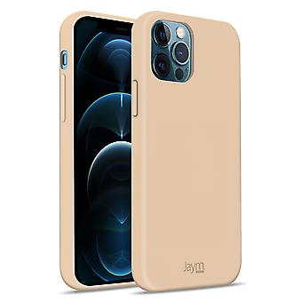 Case iPhone 12/12 Pro Silicone Soft Touch Soft Feeling Jaym champagne pink