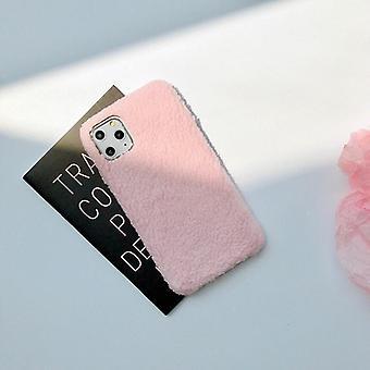 iPhone11 Pro κέλυφος teddy υλικό χνουδωτά μαλακά πλεκτά