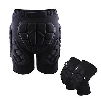 Unisex Sports Gear Short Protective Hip Butt Pad