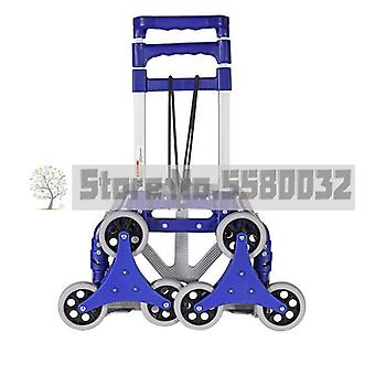 Stairs On The Stairs Artifact Climb Stairs Hand Cart Folding Six Round Small