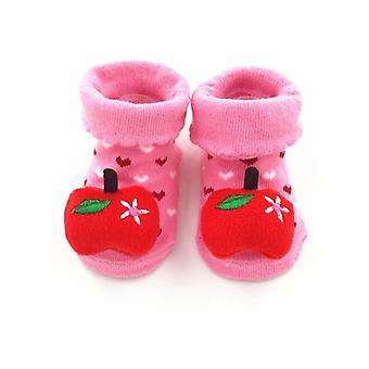 Neugeborenes Baby glücklich Anti Slip Gummi Socken