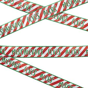 Elf Caution Tape - Elf Idea - 6m - Christmas