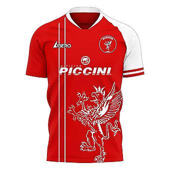 Perugia 2020-2021 Home Concept Football Kit (Libero)