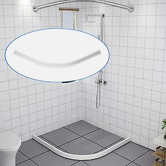 Rubber Silicone Shower Barrier Water Stopper, Bathroom Waterproof Strip Water