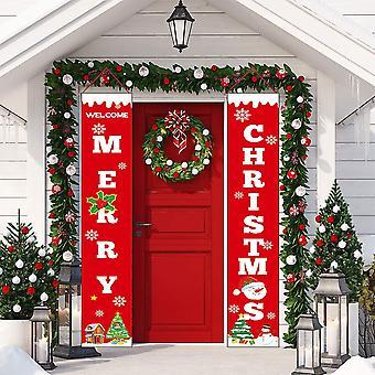 Jul dekorativa banner