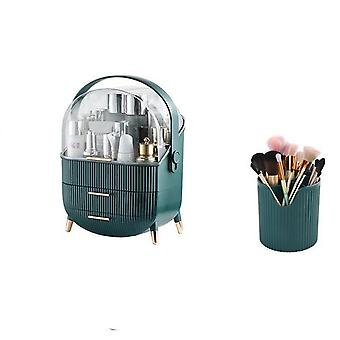 Large Capacity - Waterproof And Dust Proof Makeup Organizer Box