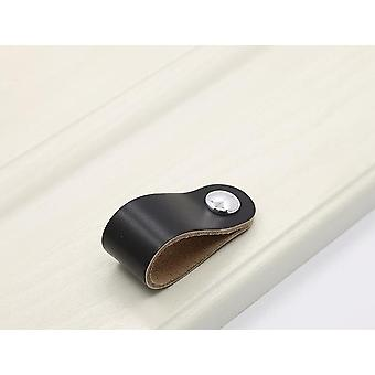 Leather Dresser Handle And Wardrobe Drawer Pulls