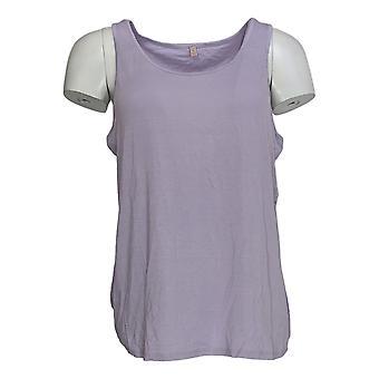 Laurie Felt Women's Top Sleeveless Tank Purple A305693