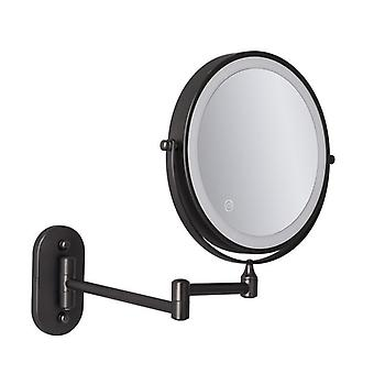 Vægmonteret Makeup Mirror - Led Tændt Touch Button