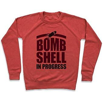Bombshell in progress crewneck sweatshirt