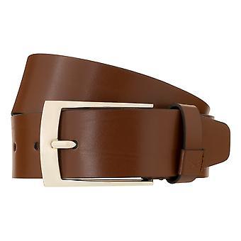 BRAX Belt Men's Belt Leather Belt Cognac 3052
