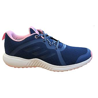 Adidas FortaRun X Kids Trainers Blue Pink Lace Up Running Shoes D96948