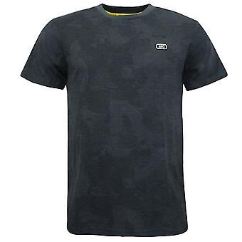 Asics AOP Short Sleeve Top Graphite Grey Mens T-Shirt 2191A169 020