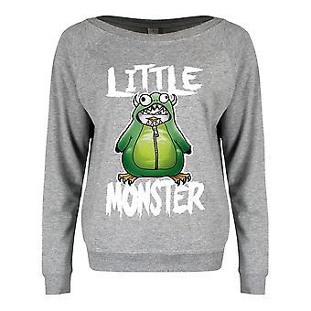 Psycho Penguin Kvinner/Damer Lille Monster Sweatshirt