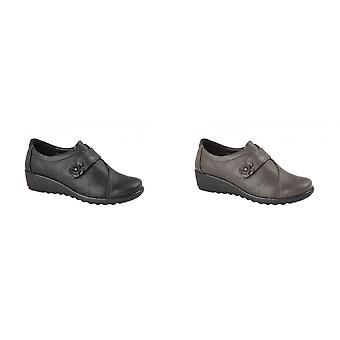 Boulevard Womens/Ladies Leather Shoes