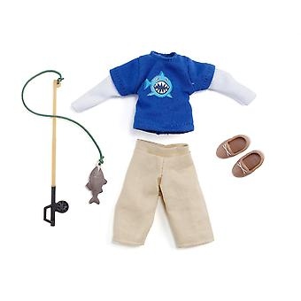 Lottie doll outfit gone fishing clothing set | best fun gift for empowering kids ages 3 & up