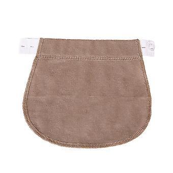 justerbar elastisk fødselspermisjon graviditet linning belte- midje extender klær