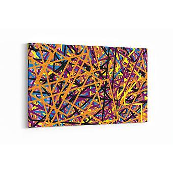 Schilderij - Abstract vector — 100x70cm