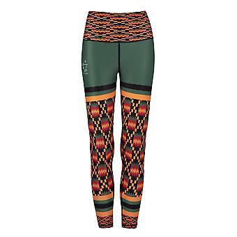 Kayentee Op Groene Funky Leggings