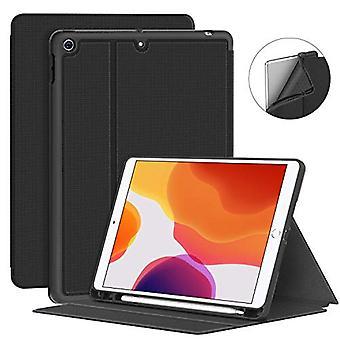 Supveco Novo iPad 10.2 Case 2019 com Suporte lápis - Caixa à prova de choque premium com recurso de sono/vigília automático para iPad 10,2 polegadas 7ª geração