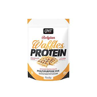 QNT Belgian Waffles High Rated Protein Protein Low Sugar & Calories - White Chocolate