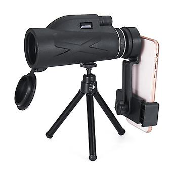 80x100 Magnification Portable Monocular Telescope Powerful Binoculars Zoom Great Handheld Telescope