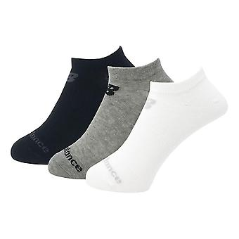 New Balance Performance Cotton Cushioned 3 Pack No Show Socks - Multi