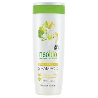Neobio Champú Reparador Lirio y Moringa 250 ml