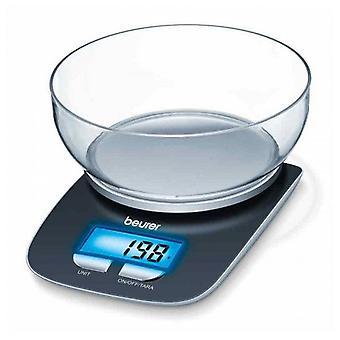 Kitchen scale Beurer Blue