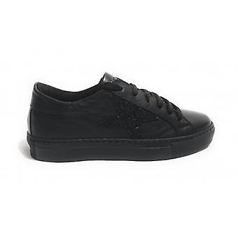 Shoes Woman Tony Wild Sneaker Col. Black Star Glitter D18tw04