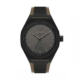Herreur Superdry SYG349B - Sort silikone armbånd