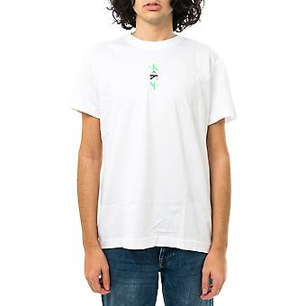 Calvin Klein Men's T-Shirt ck Repeat Text Graphic Tee j30j318304.yaf