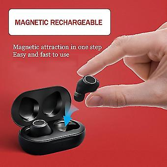 Intelligent ny typ hörapparat USB uppladdningsbar lågbrus bredfrekvent ljudförstärkare med ett klick i örat för äldre
