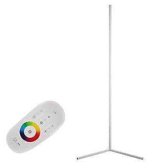 Modern nordic style dimmable rgb corner atmosphere floor lamp with remote controller
