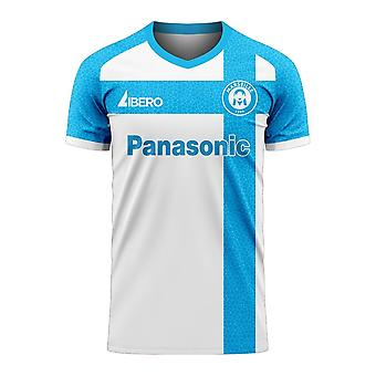 Marseille 2020-2021 Home Concept Football Kit (Libero)