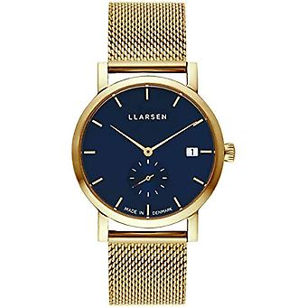 LLARSEN Analogueic Watch Quartz Woman with Stainless Steel Strap 137GDG3-MG3-18