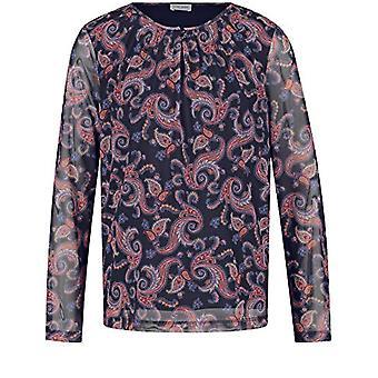 Gerry Weber T-Shirt 1/1 Arm, Navy Sienna Print, 48 Woman