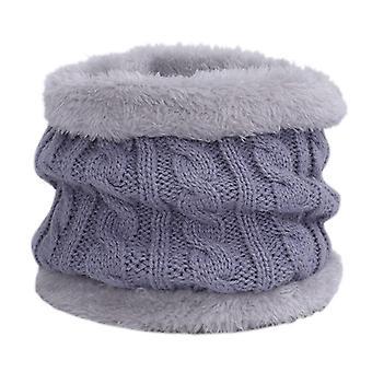 Chapeau d'hiver tricoté pour enfants Écharpe 2 pièces Ensemble