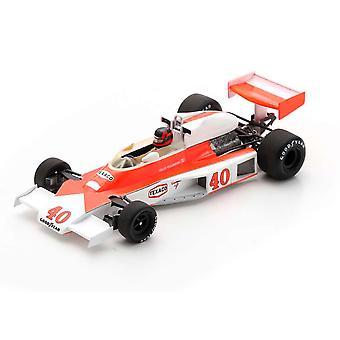 McLaren M23 Gilles Villeneuve (No. 40 GP británico 1977) Modelo de resina