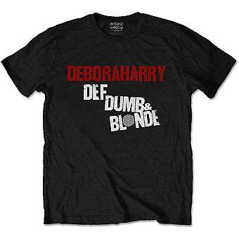 Debbie Harry - Def, Dumb & Blonde Men's XX-Large T-Shirt - Black