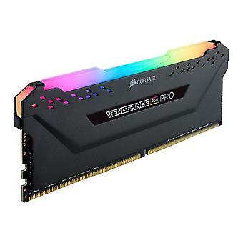 Corsair Vengeance RGB Pro 8GB, DDR4, 3200MHz (PC4-25600), CL16, XMP 2.0, Ryzen Optimised, DIMM Memory