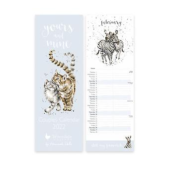 Wrendale Yours & Mine Paare 2022 Kalender