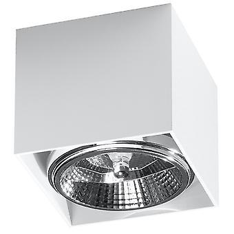 Downlights montados en superficie Square Flush Light White GU10