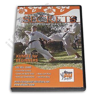 Secrets Championnat Karaté Kumite Débutants Dvd Au -Vd6793A