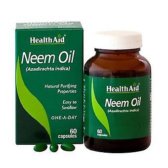 HealthAid Neem Oil Kapseln 60 (804183)